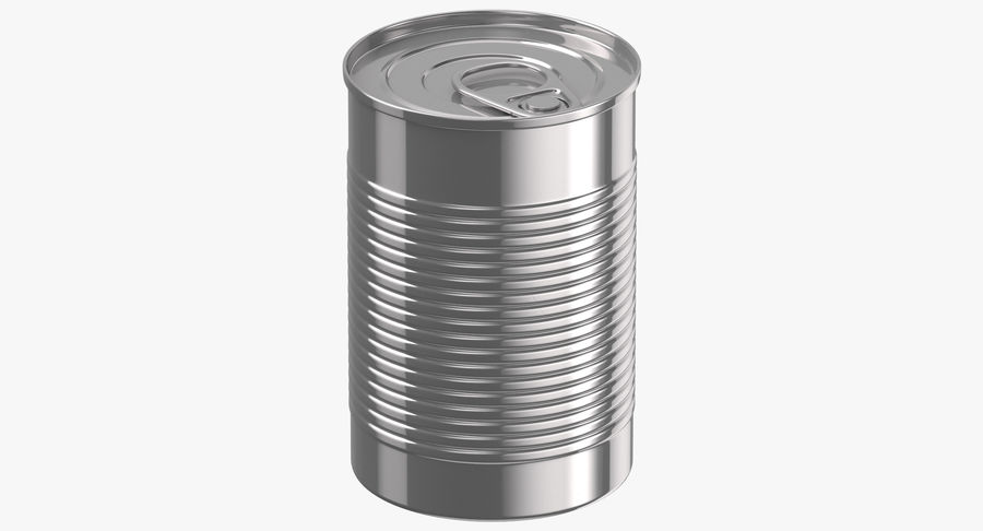 Food Cans royalty-free 3d model - Preview no. 7
