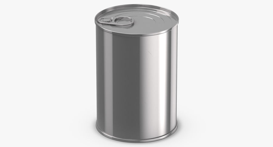 Food Cans royalty-free 3d model - Preview no. 20