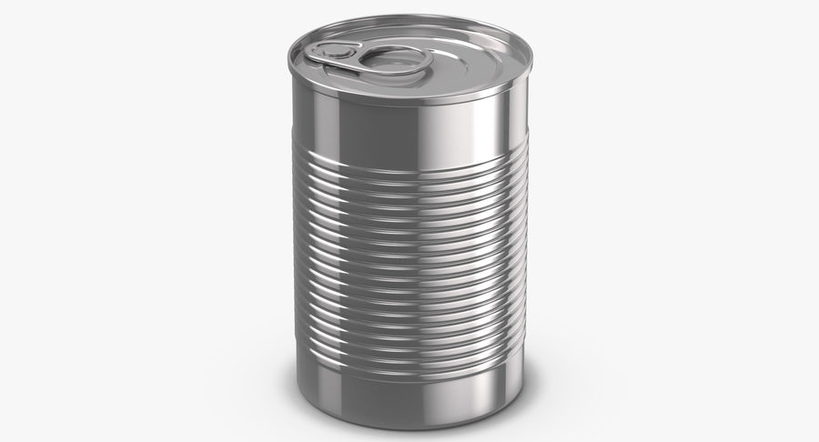 Food Cans royalty-free 3d model - Preview no. 13