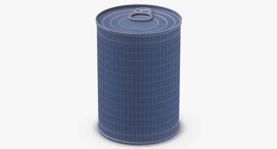 Food Cans royalty-free 3d model - Preview no. 44