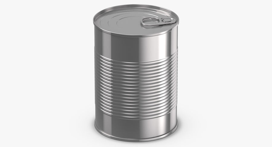 Food Cans royalty-free 3d model - Preview no. 16