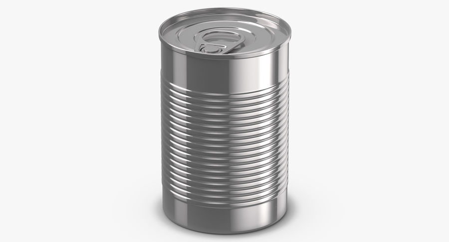 Food Cans royalty-free 3d model - Preview no. 11