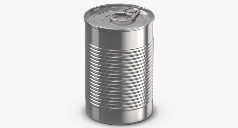 Food Cans royalty-free 3d model - Preview no. 9