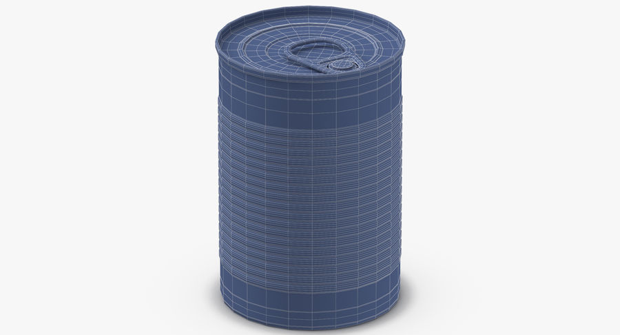 Food Cans royalty-free 3d model - Preview no. 29