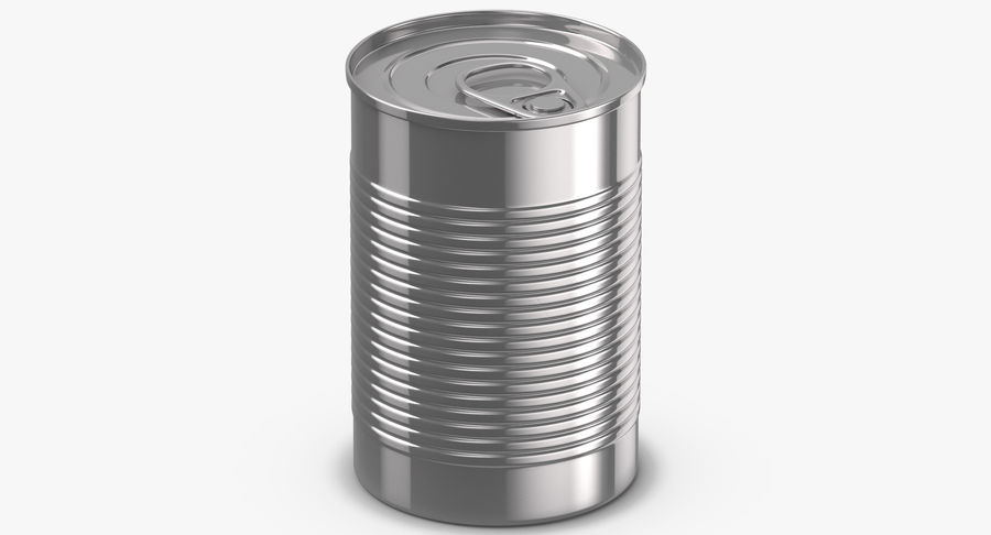 Food Cans royalty-free 3d model - Preview no. 8