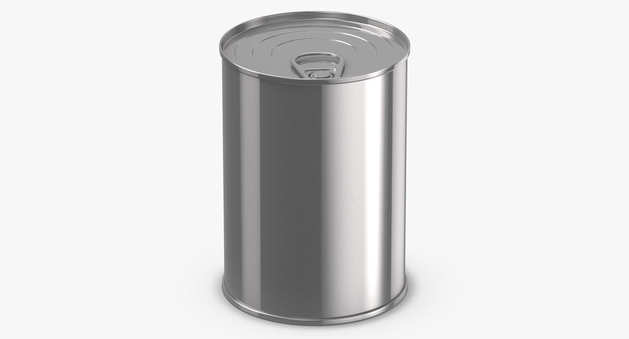 Food Cans royalty-free 3d model - Preview no. 19
