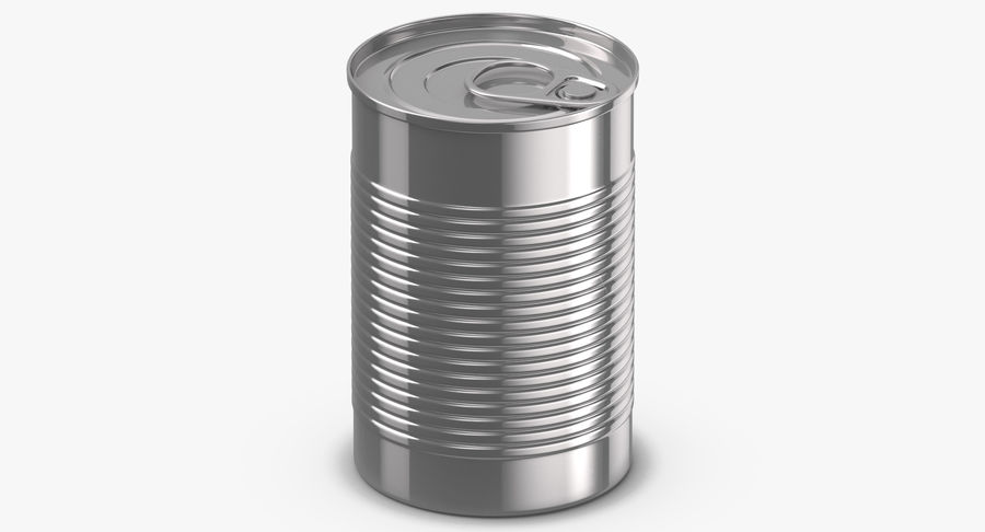 Food Cans royalty-free 3d model - Preview no. 12