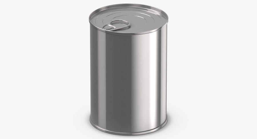 Food Cans royalty-free 3d model - Preview no. 18