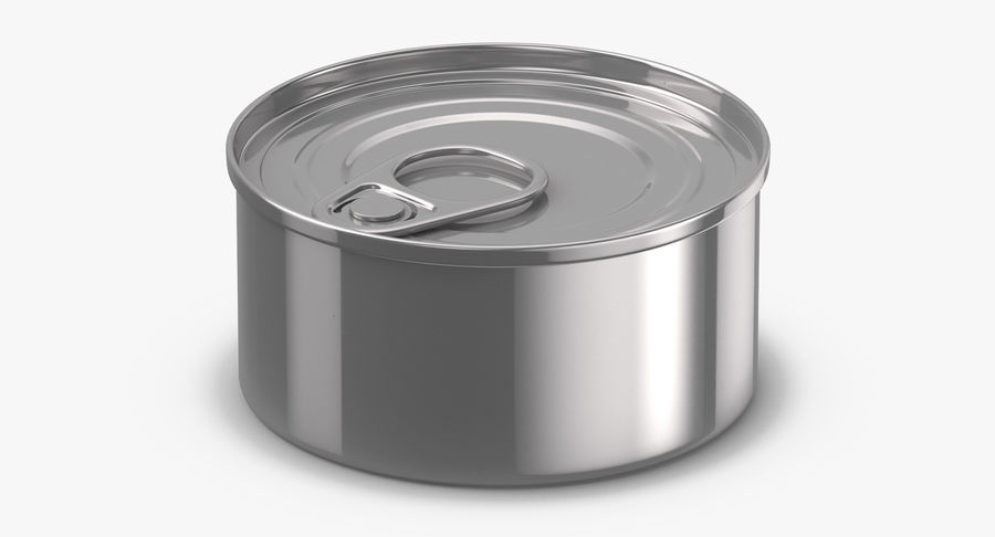 Food Cans royalty-free 3d model - Preview no. 25