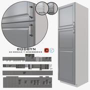 宜家BODBYN 3d model