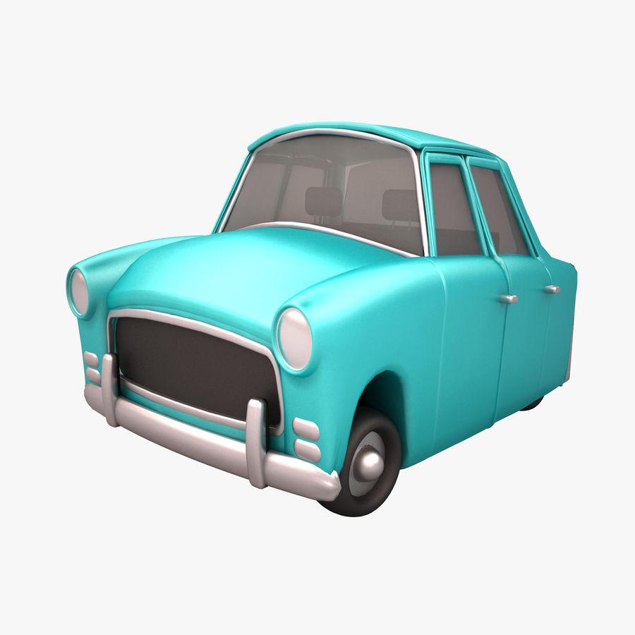 Antique Cartoon Car(1) royalty-free 3d model - Preview no. 1
