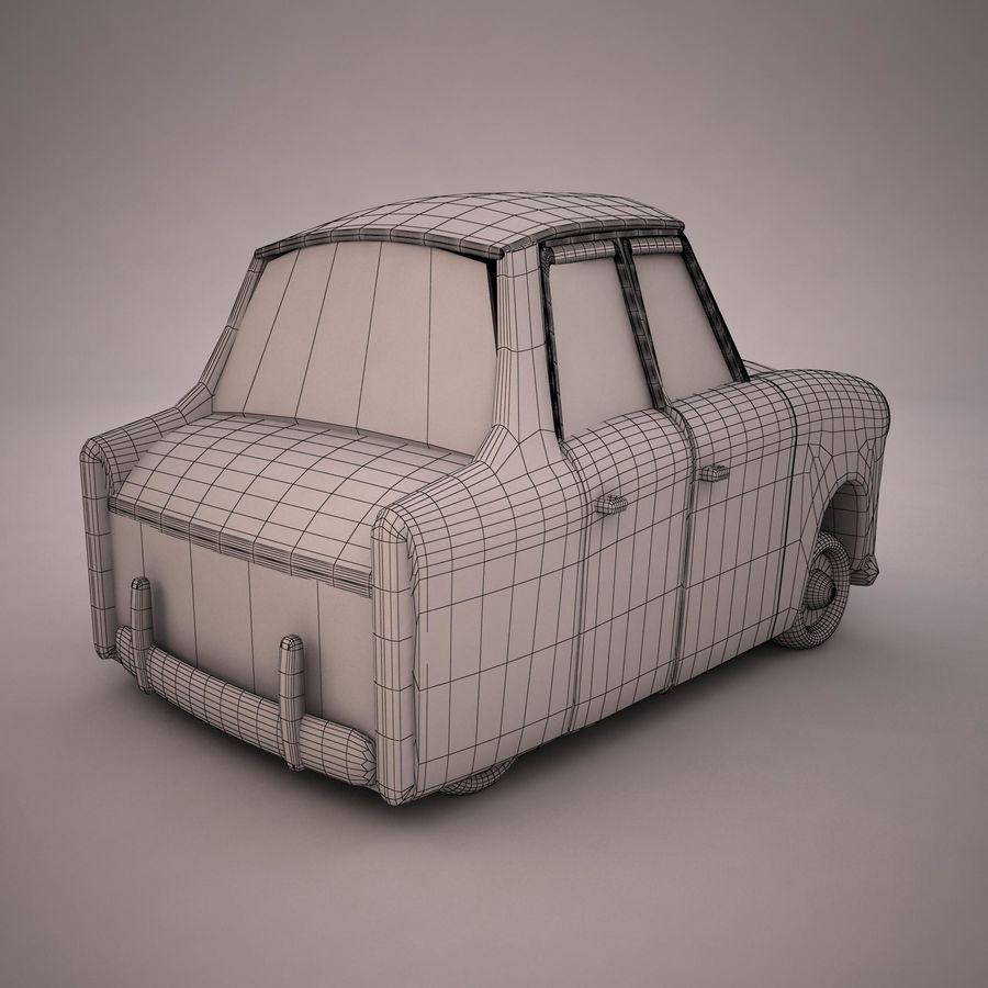 Antique Cartoon Car(1) royalty-free 3d model - Preview no. 13