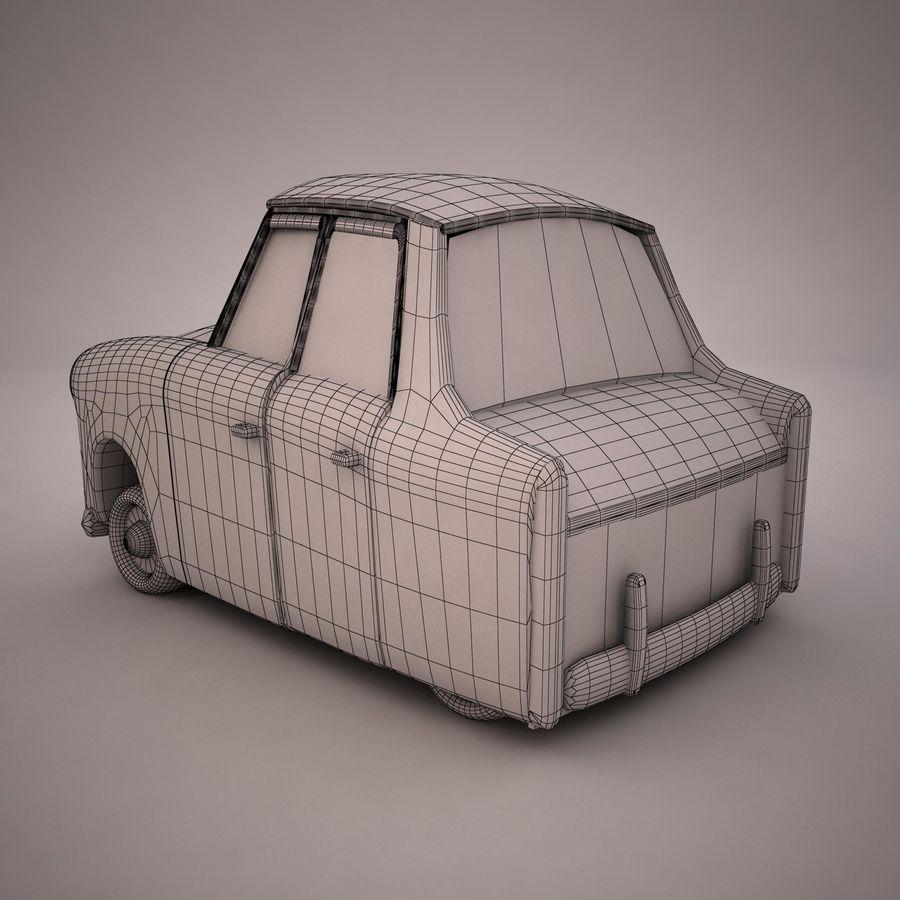 Antique Cartoon Car(1) royalty-free 3d model - Preview no. 11