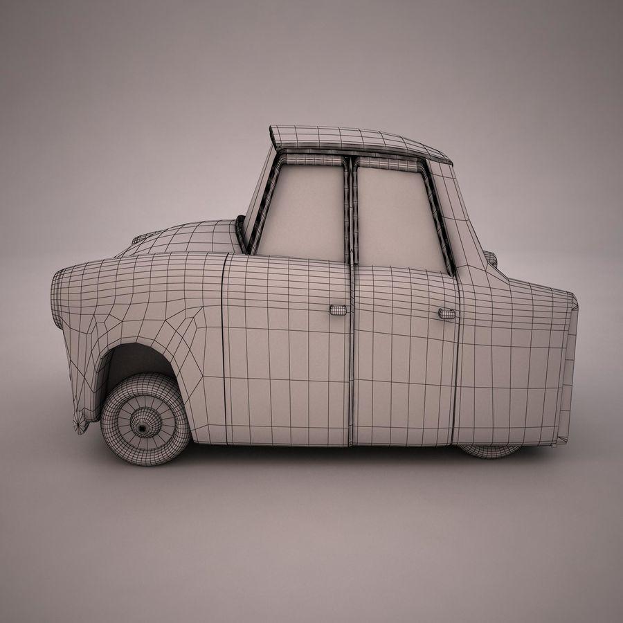 Antique Cartoon Car(1) royalty-free 3d model - Preview no. 10