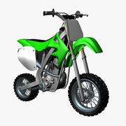 越野摩托车单反 3d model