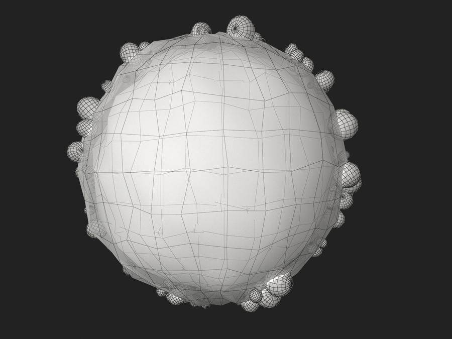 Ovum Cell royalty-free 3d model - Preview no. 8