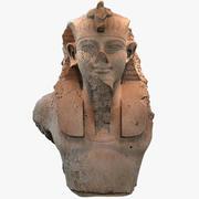 Popiersie króla Amenhotepa III 3d model