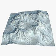 Terrain Mountain Range Valley 45 Landscape 3d model