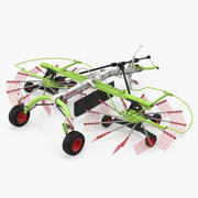 Twin Rotor Hay Rake Claas Liner 2700 3D Model 3d model