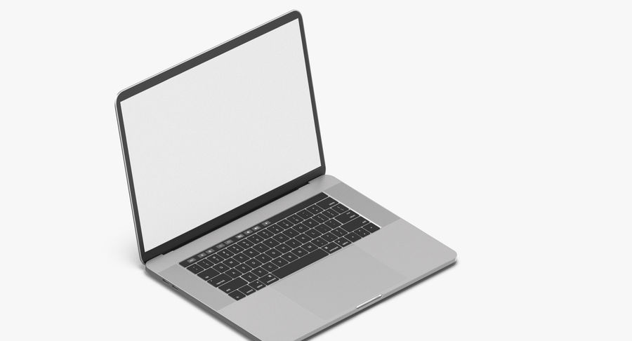 Apple Macbook Pro Açık ve Kapalı royalty-free 3d model - Preview no. 9