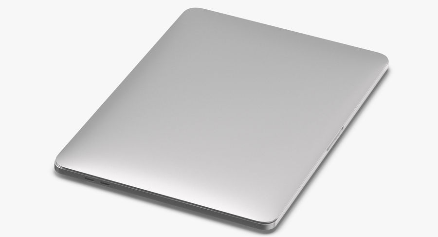 Apple Macbook Pro Open and Closed royalty-free 3d model - Preview no. 10