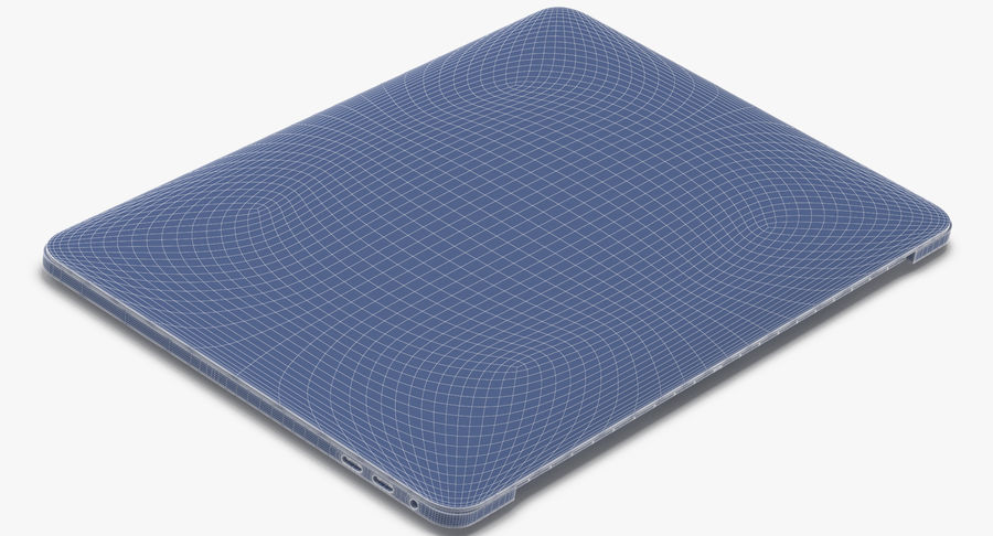 Apple Macbook Pro打开和关闭 royalty-free 3d model - Preview no. 22