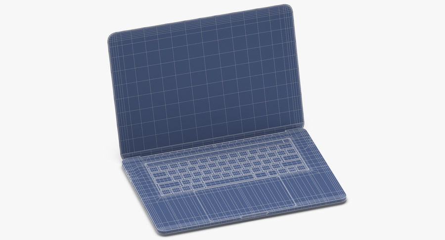 Apple Macbook Pro打开和关闭 royalty-free 3d model - Preview no. 13