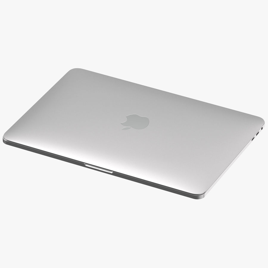 Apple Macbook Pro Open and Closed royalty-free 3d model - Preview no. 2