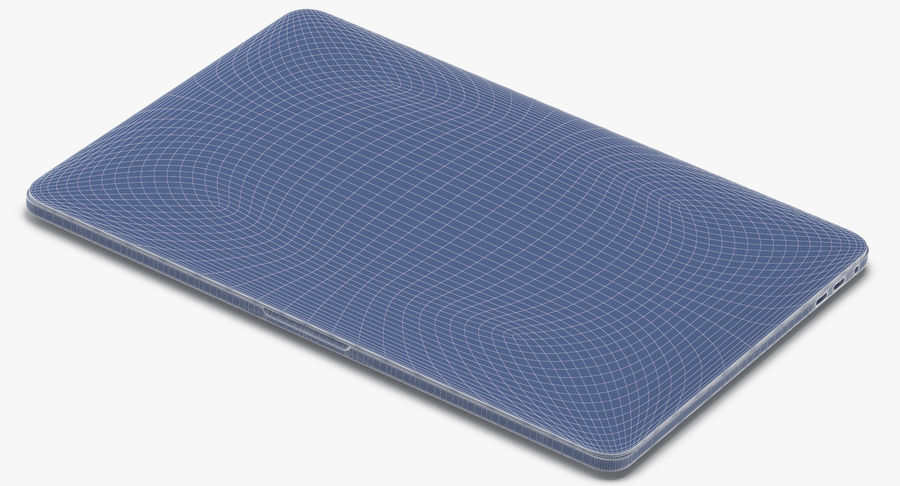 Apple Macbook Pro打开和关闭 royalty-free 3d model - Preview no. 20