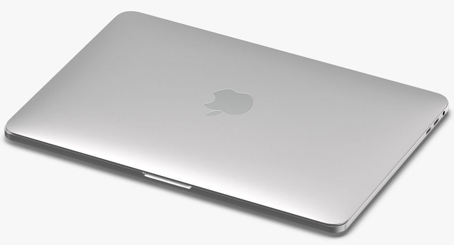 Apple Macbook Pro Açık ve Kapalı royalty-free 3d model - Preview no. 4