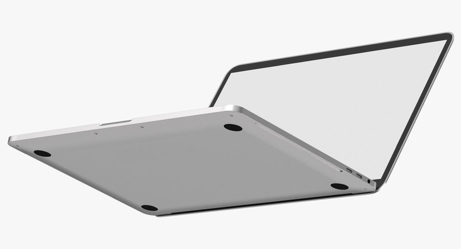Apple Macbook Pro打开和关闭 royalty-free 3d model - Preview no. 7