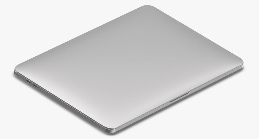 Apple Macbook Pro Açık ve Kapalı royalty-free 3d model - Preview no. 11