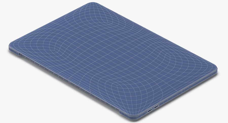 Apple Macbook Pro打开和关闭 royalty-free 3d model - Preview no. 24