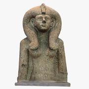 Diosa egipcia modelo 3d