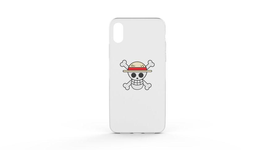 iPhone x Kılıfı royalty-free 3d model - Preview no. 11