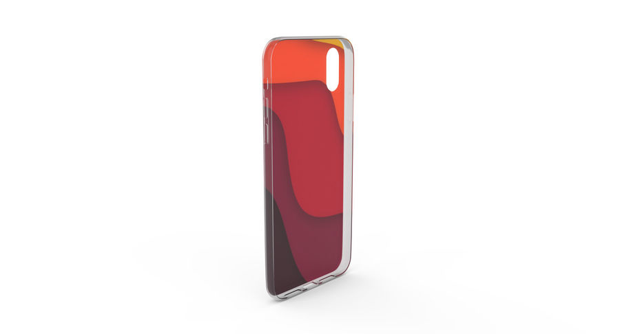iPhone x Kılıfı royalty-free 3d model - Preview no. 4