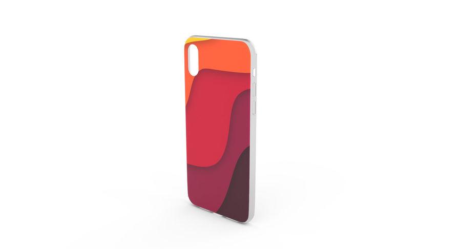 iPhone x Kılıfı royalty-free 3d model - Preview no. 3