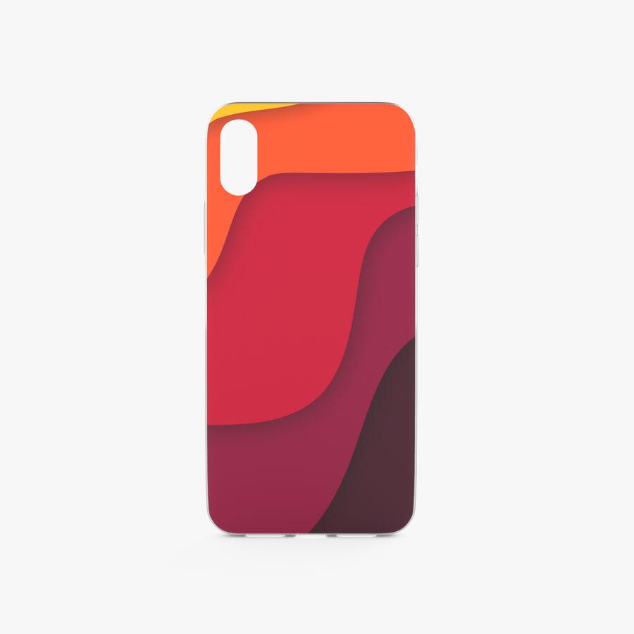 Custodia per iPhone x royalty-free 3d model - Preview no. 1