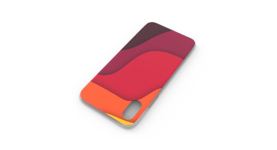 Custodia per iPhone x royalty-free 3d model - Preview no. 5