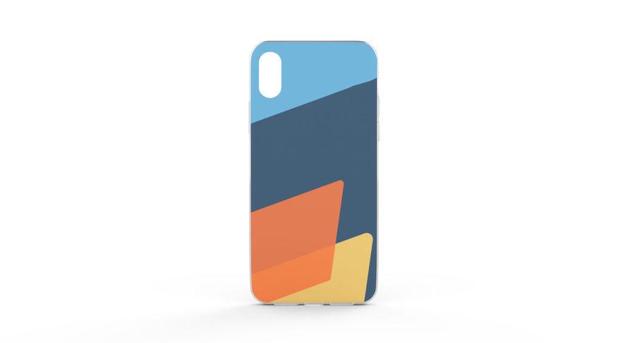 Custodia per iPhone x royalty-free 3d model - Preview no. 8