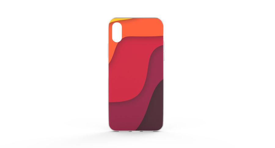 Custodia per iPhone x royalty-free 3d model - Preview no. 2