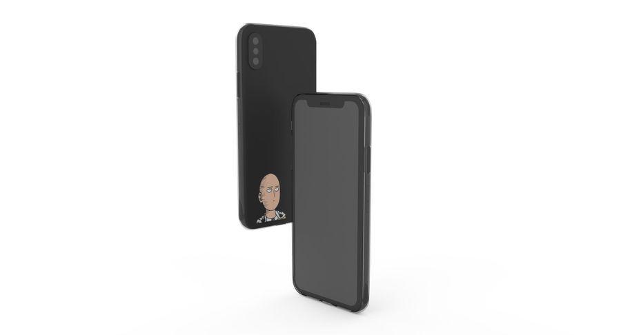 iPhone x Kılıfı royalty-free 3d model - Preview no. 20
