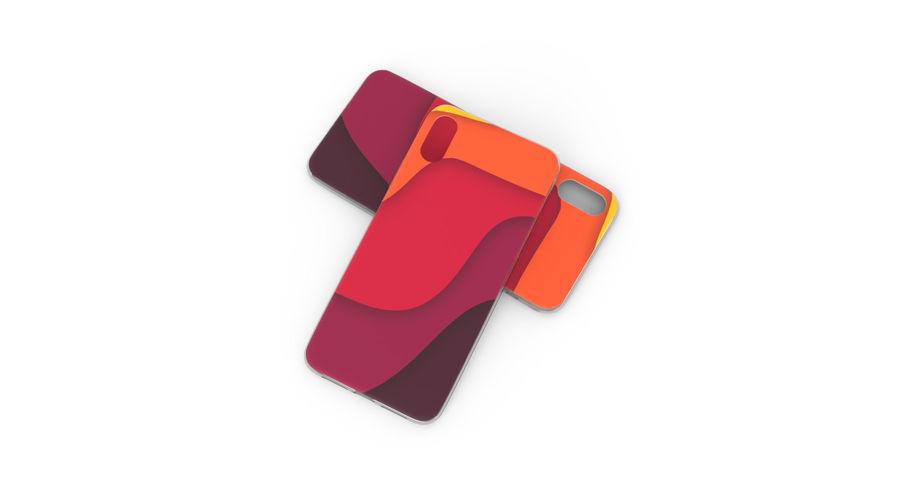 Custodia per iPhone x royalty-free 3d model - Preview no. 6