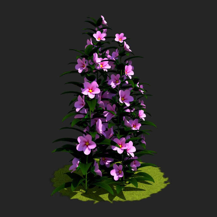 Pacote de arbusto de flores royalty-free 3d model - Preview no. 24