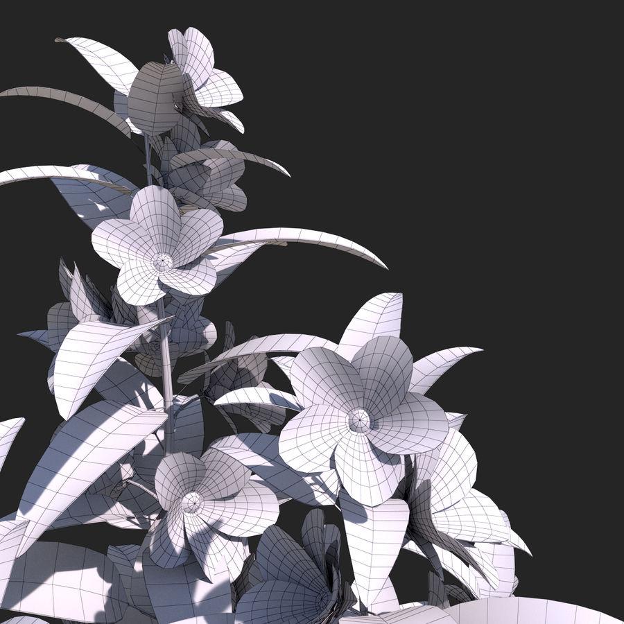 Pacote de arbusto de flores royalty-free 3d model - Preview no. 31