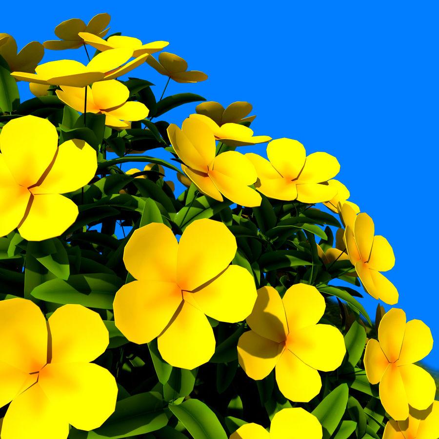 Pacote de arbusto de flores royalty-free 3d model - Preview no. 16