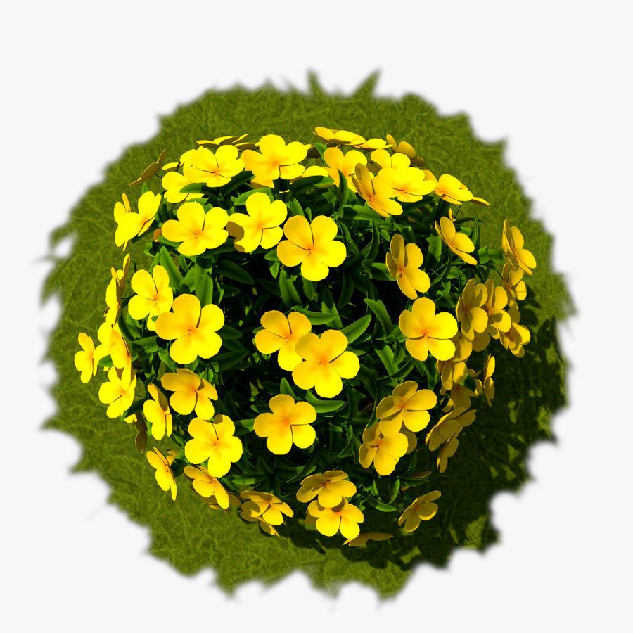 Pacote de arbusto de flores royalty-free 3d model - Preview no. 13