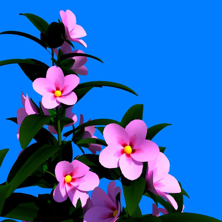 Pacote de arbusto de flores royalty-free 3d model - Preview no. 25