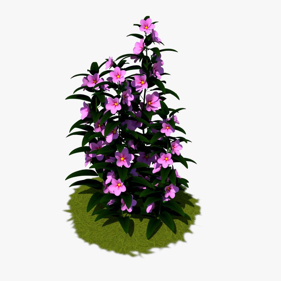 Pacote de arbusto de flores royalty-free 3d model - Preview no. 22
