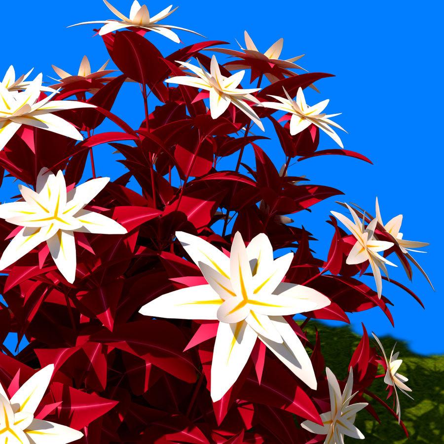 Pacote de arbusto de flores royalty-free 3d model - Preview no. 36